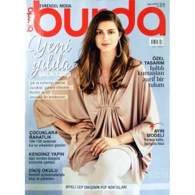 BURDA SEWING MAGAZINE January 2020/1