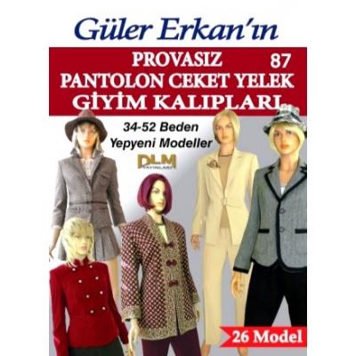 GULER ERKAN'S SEWING MAGAZINE 87th