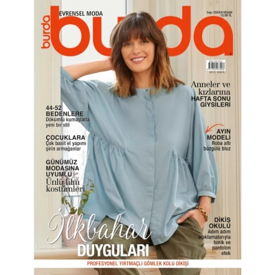BURDA SEWING MAGAZINE APRIL 2020/4