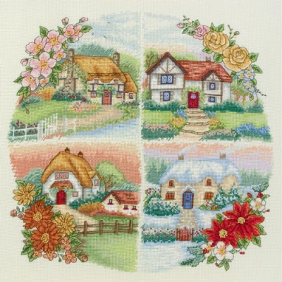 ANCHOR CROSS STITCH KIT PCE750