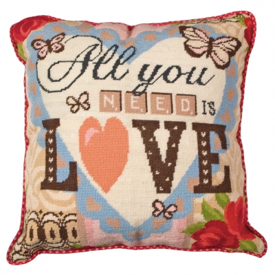 ANCHOR TAPESTRY PILLOW ALR62