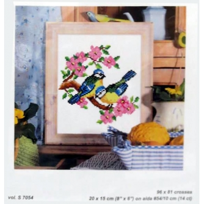 Counted Cross Stitch Chart Book 7054