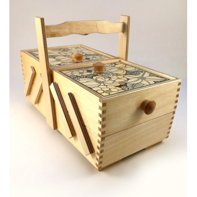 Two Storey Sewing Box