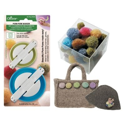 CLOVER POM-POM MAKERS LARGE 3126
