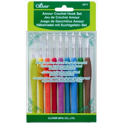 CLOVER AMOUR CROCHET HOOK SET 3674