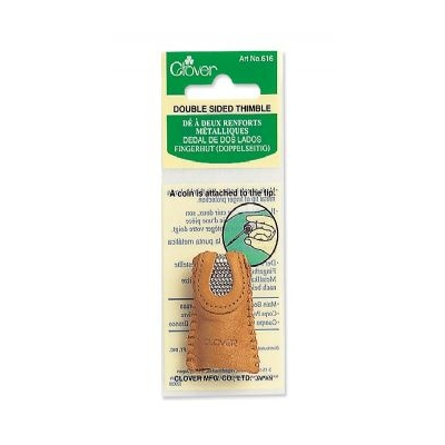 CLOVER LEATHER THIMBLE 616