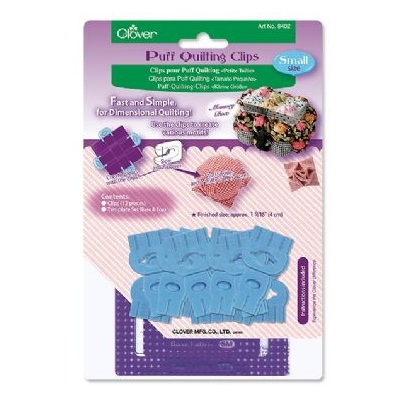 CLOVER PUFF QUILTING CLIPS 8402