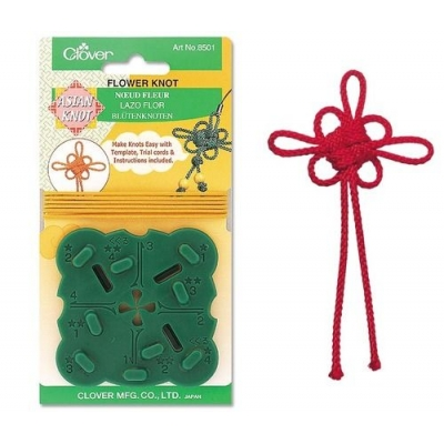 CLOVER FLOWER KNOT TEMPLATE 8501