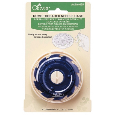 Clover Dome Threaded Needle Case 625