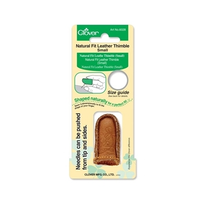 CLOVER NATURAL FİT LEATHER THIMBLE 6028