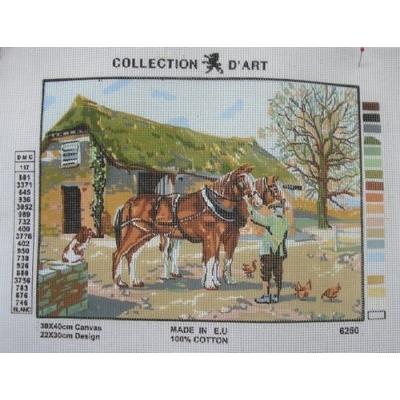 30x40 cm COLLECTION D'ART BASKILI GOBLEN 6250