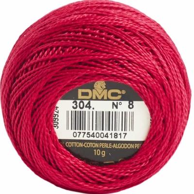 DMC Pearl Cotton 304 (No:8)