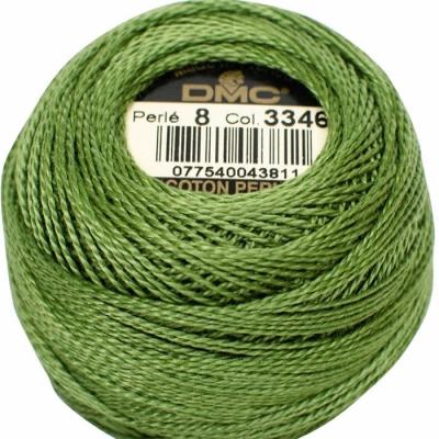 DMC Pearl Cotton 3346 (No:5-8)