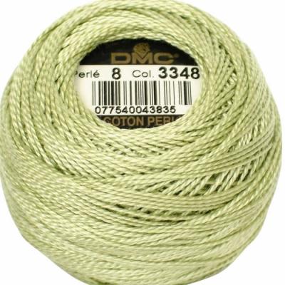 DMC Pearl Cotton 3348 (No:5-8)