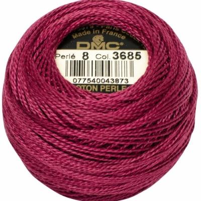 DMC Pearl Cotton 3685 (No:5-8)