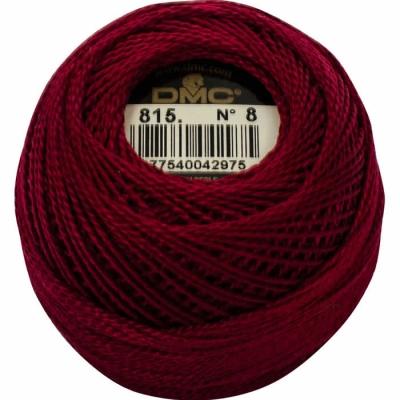 DMC Pearl Cotton 815 (No:5-8)