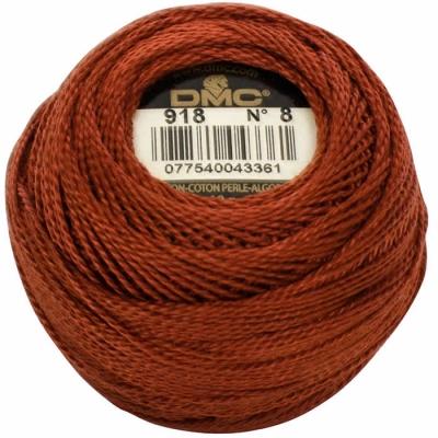 DMC Pearl Cotton 918 (No:8)