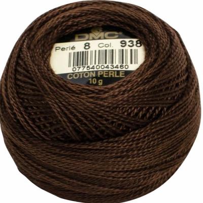 DMC Pearl Cotton 938 (No:5-8)