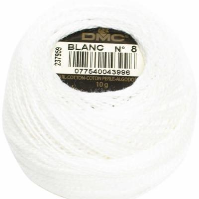 DMC Pearl Cotton BLANC (No:5-8-12)