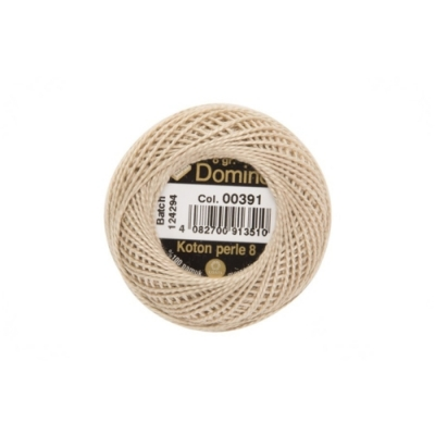 Domino Cotton Perle 391, 8-12 Number