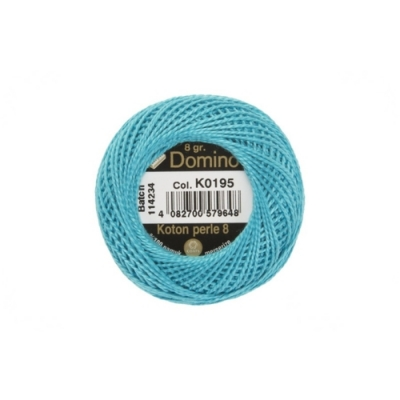 Domino Cotton Perle k0195, 8-12 Number