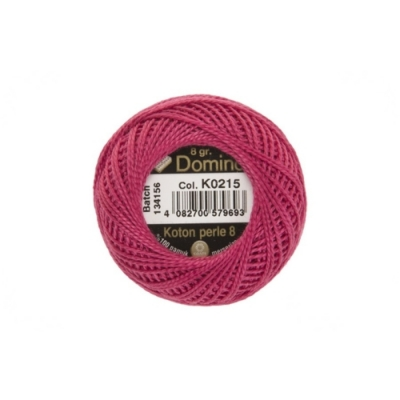 Domino Cotton Perle k0215, 8-12 Number