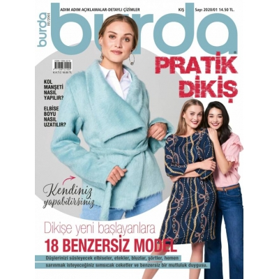 BURDA MAGAZINE EASY FALL/WINTER 2020/1 !!NEW!!