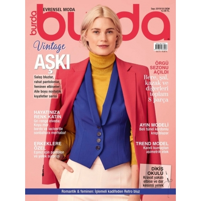 BURDA SEWING MAGAZINE OCTOBER 2019/10