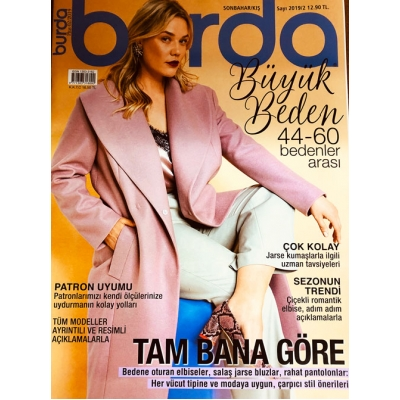 BURDA MAGAZINE PLUS 2019/2 !!NEW!!