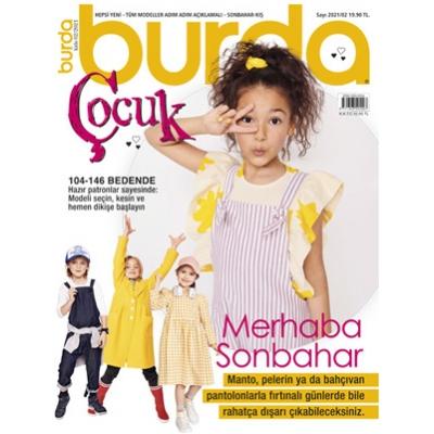 BURDA SEWING MAGAZINE KID 2021/02