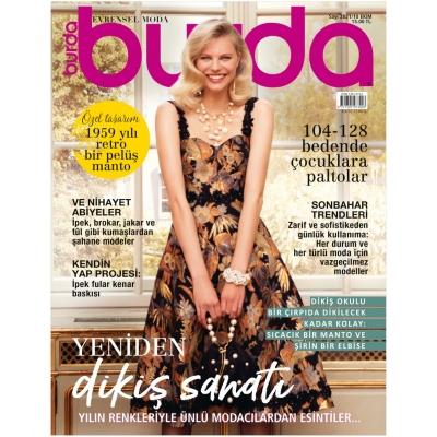 BURDA SEWING MAGAZINE OCTOBER 2021/10