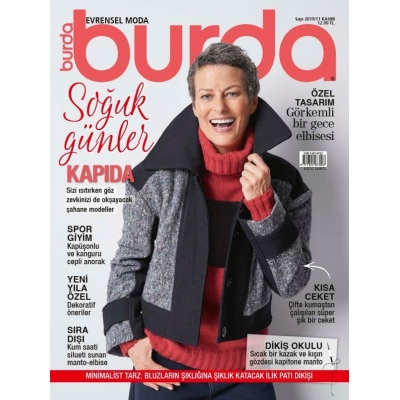 BURDA SEWING MAGAZINE NOVEMBER 2019/11