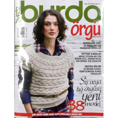 BURDA KNITTING MAGAZINE WINTER 2018 !!NEW!!