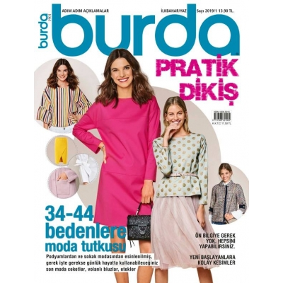 BURDA MAGAZINE EASY SPRING/SUMMER 2019/01 !!NEW!!