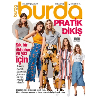 BURDA MAGAZINE EASY SPRING/SUMMER 2019/02 !!NEW!!