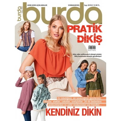 BURDA MAGAZINE EASY FALL/WINTER 2019/03 !!NEW!!