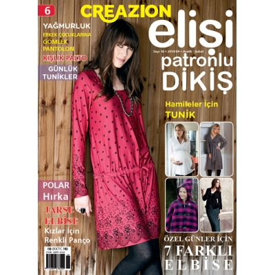 ELİSİ CREAZION SEWING MAGAZINE 6TH
