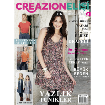 ELISI CREAZION SEWING MAGAZINE 8th