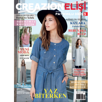 ELİSİ CREAZION SEWING MAGAZINE 9TH
