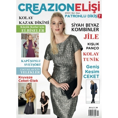 ELISI CREAZION SEWING MAGAZINE 7th