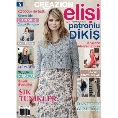 ELİSİ CREAZION SEWING MAGAZINE 5TH