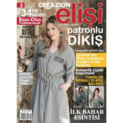 ELİSİ CREAZION SEWING MAGAZINE 3TH
