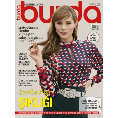 BURDA SEWING MAGAZINE SEPTEMBER 2019/9