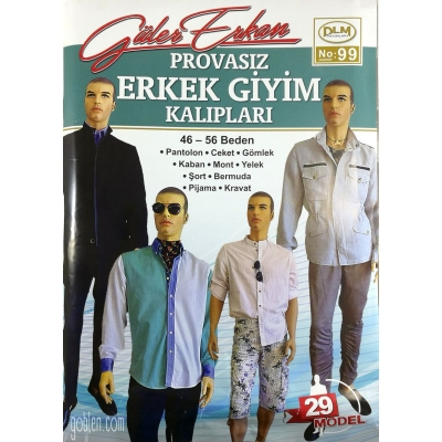 GULER ERKAN'S SEWING MAGAZINE 99th