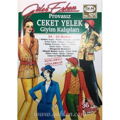 GÜLER ERKAN'S SEWING MAGAZINEİ 101 - NEW!