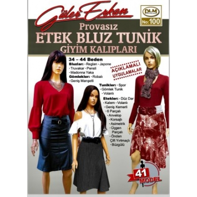 GULER ERKAN'S SEWING MAGAZINE 100
