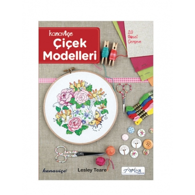 CROSS STITCH FLOWER MODELS BOOK