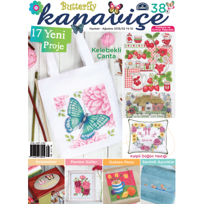 DMC Cross-Stitch Magazine 38