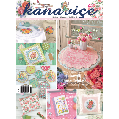 DMC CROSS STITCH MAGAZINES 42nd