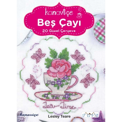 CROSS STITCH TEA TIME BOOK